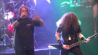 Exodus - A Lesson In Violence & Blacklist Live @ Sticky Fingers, Gothenburg 2016
