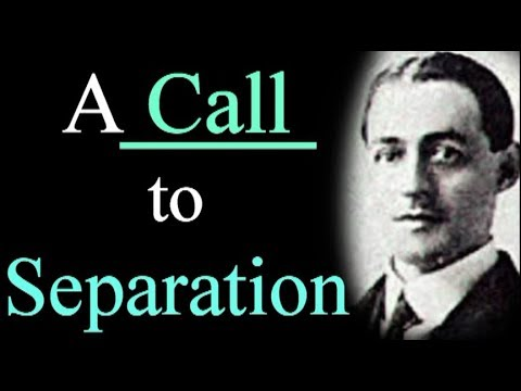 A Call to Separation - A. W. Pink Christian Audio Books / Don't be Unequally Yoked / Be Ye Separate