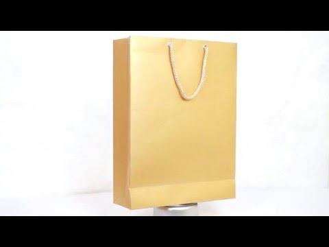 Premium Gold Paper Bags