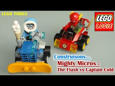 Vidéo LEGO DC Comics Super Heroes 76063 : Flash contre Captain Cold