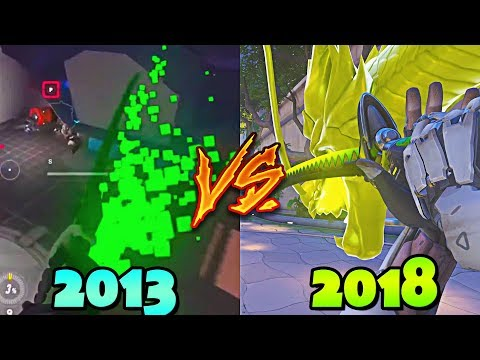 Evolution Of OVERWATCH - From 2013 to 2018