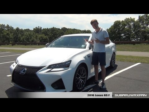 Review:2016 Lexus GS F