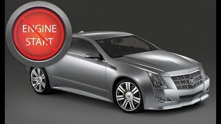 Cadillac CTS Coupe, XLR, ELR and Chevy Corvette Update: Open, start keyless start with a dead key.