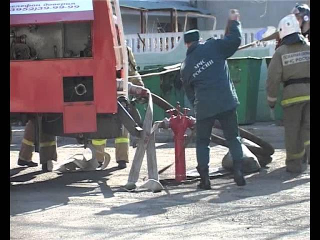 В ДК «Современник» прошли пожарно-тактические учения