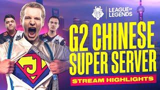 Worlds 2020 : « G2 Chinese Super Server Stream Highlights »