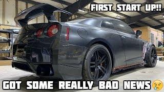 Rebuilding a Wrecked 2010 Nissan GTR Part 2
