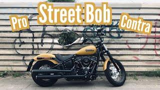 Langzeittest Harley-Davidson Street Bob: 5 Gründe für und gegen einen Kauf | Motovlog | flaschenkost