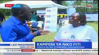 Kenya Re na Standard Group katika kampeni ya Niko Fiti kusaidia walemavu kaunti ya Trans Nzoia
