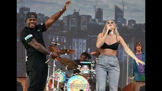 """Video thumbnail of """"Rudimental ft. Anne-Marie - Waiting All Night LIVE at T in the Park Festival"""""""