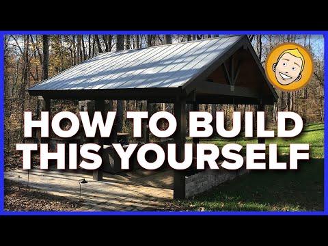 How to build a Ramada or Pavilion DIY (Introduction)