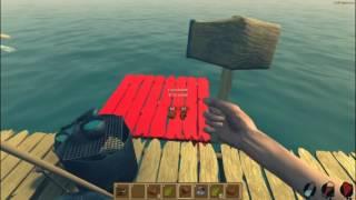 Raft : ЗВЕРСКОЕ УБИЙСТВО АКУЛЫ !