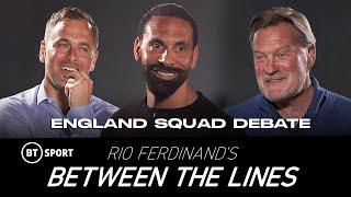 Entre líneas de Rio Ferdinand: Debate del equipo de la Eurocopa 2020 de Inglaterra con Joe Cole y Glenn Hoddle