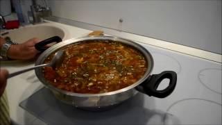 Борщ без воды в посуде iCook