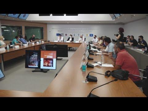 Συνέντευξη Τύπου Ν. Χαρδαλιά, παρουσία Μ. Χρυσοχοΐδη, για αντιπυρική περίοδο 2021
