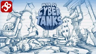 War Of Cyber Tanks - iOS/Android - Gameplay Video