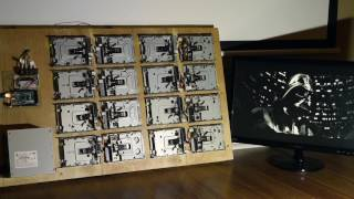 Imperial March - Played By 16 Floppy Drives