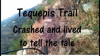Tequepis - Crashed and lived to tell the tale