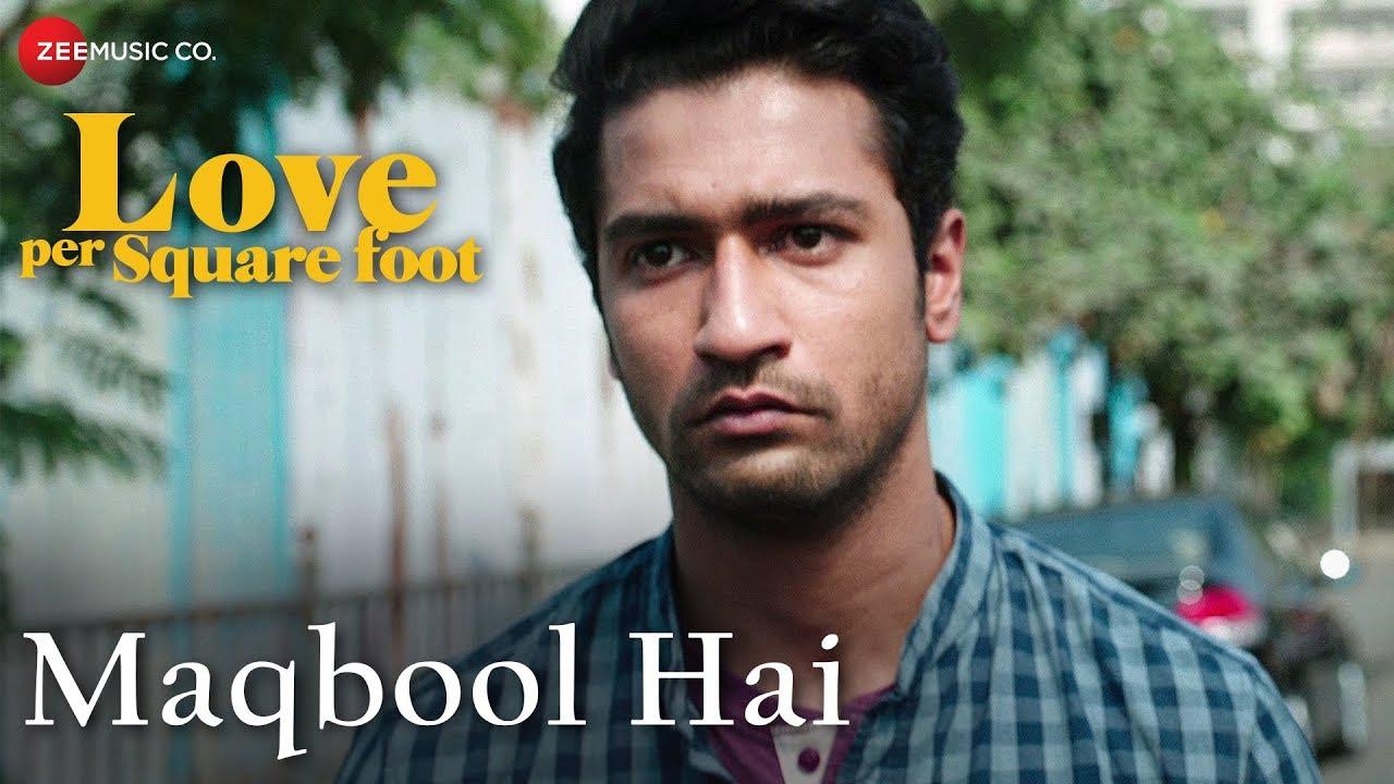 Maqbool Hai Lyrics  | Love per Square Foot | Angira Dhar | Altamas Faridi | Sohail Sen