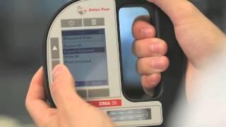 DMA 35 Portable Density Meter: Features