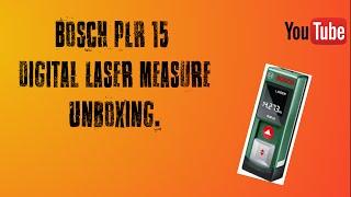 Bosch PLR 15 Digital Laser Measure
