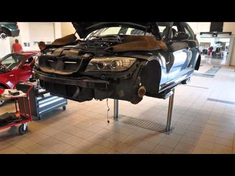 BMW E90 335I styling tuning at Schmiedmann Odense