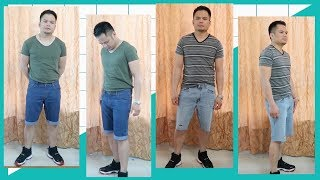 TRANSFORM OLD JEANS TO MENS SHORTS (simple And Distressed Jeans)