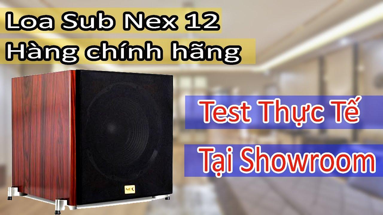 Video giới thiệu Loa sub NEX 12 hàng chính hãng USA