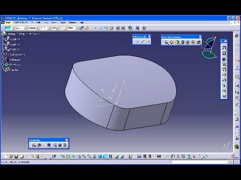 Uebung 2 - Catia V5 GSD Training - Extrude - Edge Filet - Thick Surface Mp3