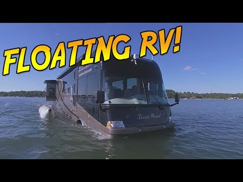 I have no words: Aquatic Floating RV
