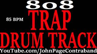 Trap Drum Track Heavy 808 Bass Hip Hop Rap