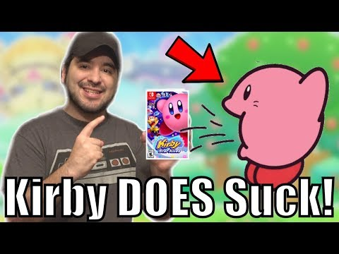 I was RIGHT. Kirby DOES Suck. - Kirby Star Allies for Nintendo Switch | 8-Bit Eric