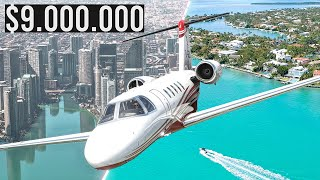 Flight Simulator 2020 - Flying $9M Private Jet to Key West!   4K