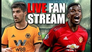 Reality Check For Solskjaer! Wolves 2-0 Manchester United Live Stream | The Football Terrace