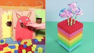 42 DIY Crafts Ideas For Kids with LEGO DUPLO Bricks! Easy Home Learning Activities for Boys & Girls
