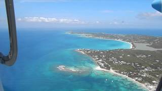 8 Minute Flight from Anguilla to St Maarten