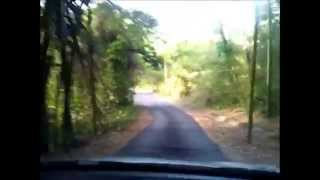 preview picture of video 'The Drive into RL Armeria Shooting Range in Caguas, Puerto Rico'