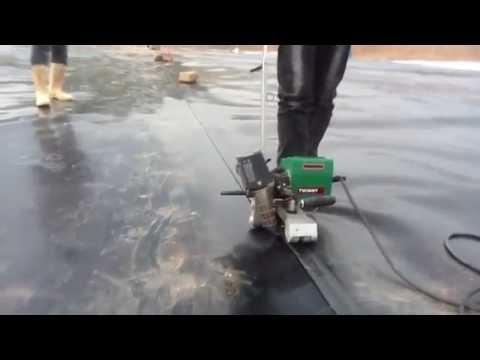 Thi công hàn màng HDPE