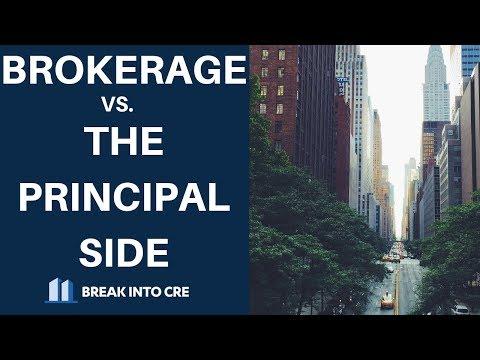 Real Estate Analyst Careers - Brokerage vs. The Principal Side ...