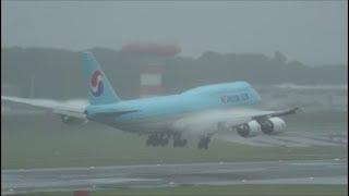 雨のおもしろヴェイパーMD‐11B767A330B747Rwy34L成田空港航空科学博物館眺望nrthhh