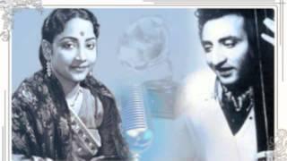 Geeta Dutt, GM Durrani, Pramodini Patkar   - YouTube