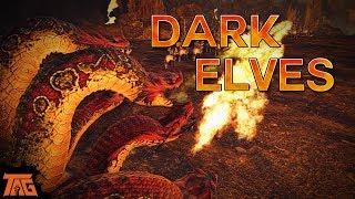 Total War Warhammer 2 - DARK ELVES GAMEPLAY!
