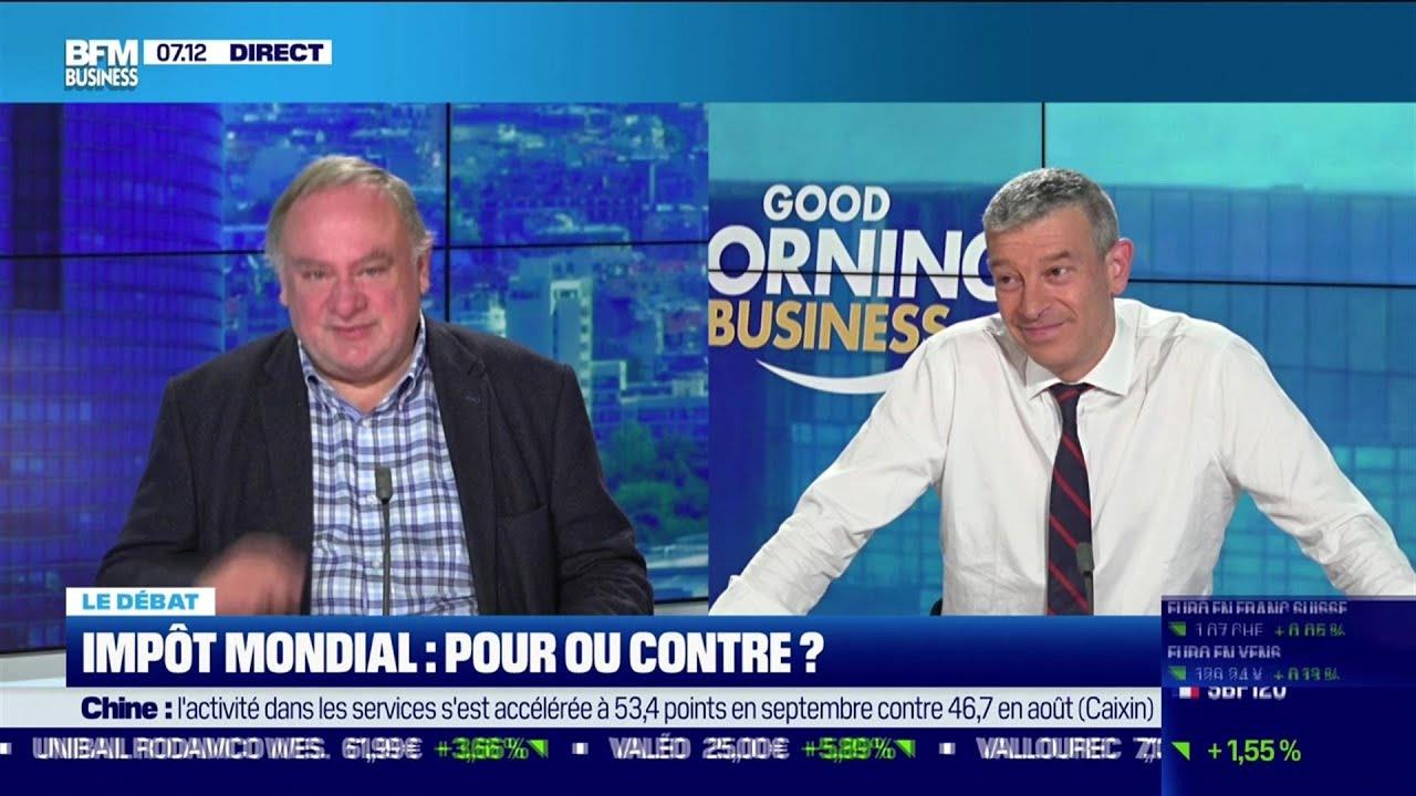 Le débat  : Impôt mondial, pour ou contre ?