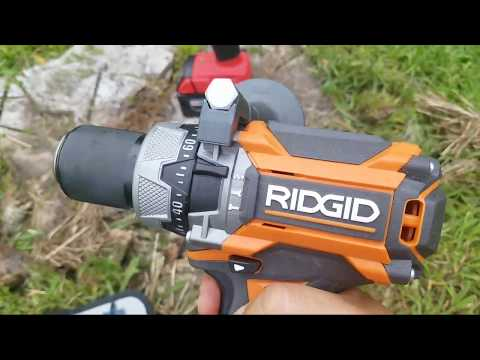 Milwaukee vs.Ridgid Brushless Hammer Drill …You Gotta Be Kidding ??  LIVE !!!