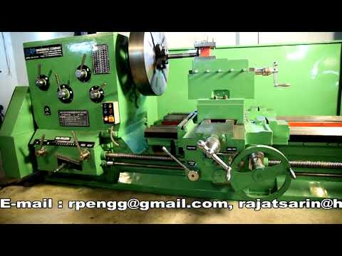 Heavy Duty All Geared Lathe Machine (Planner Type)