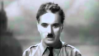 The Great Dictator - Charlie Chaplin