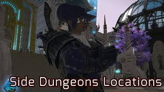 How to get Expert Roulettes in Shadowbringers/ side dungeon locations