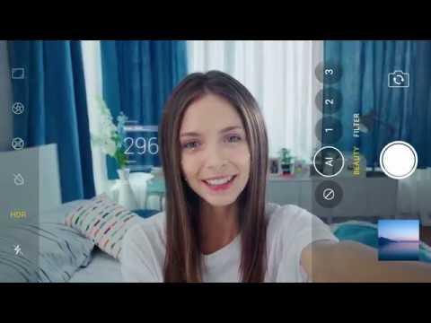 AI Selfie Tune 2.0 в новом OPPO F7