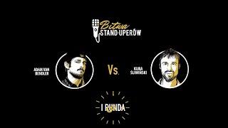 BITWA STAND-UPERÓW - BITWA: ADAM BENDLER Vs. KUBA ŚLIWIŃSKI - 20 III 2016 Gdańsk (Official video)