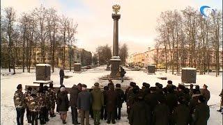 Члены экипажа подводной лодки «Великий Новгород» провели два дня в нашем городе