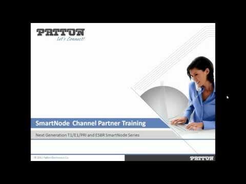 Next Generation T1 E1 PRI and ESBR SmartNode Channel Partner Training